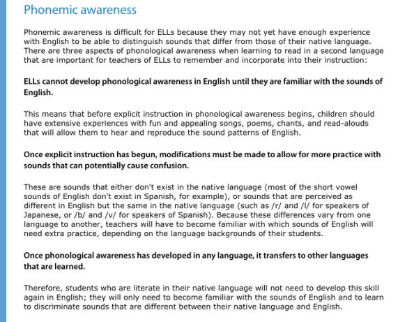 Research Based Phonics Instruction For The Love Of Language